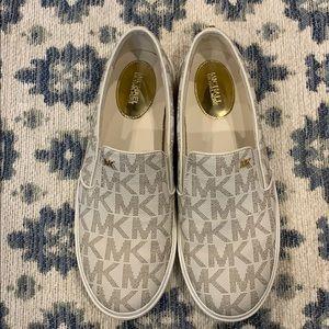 Michael Kors - MK logo print slip on sneakers